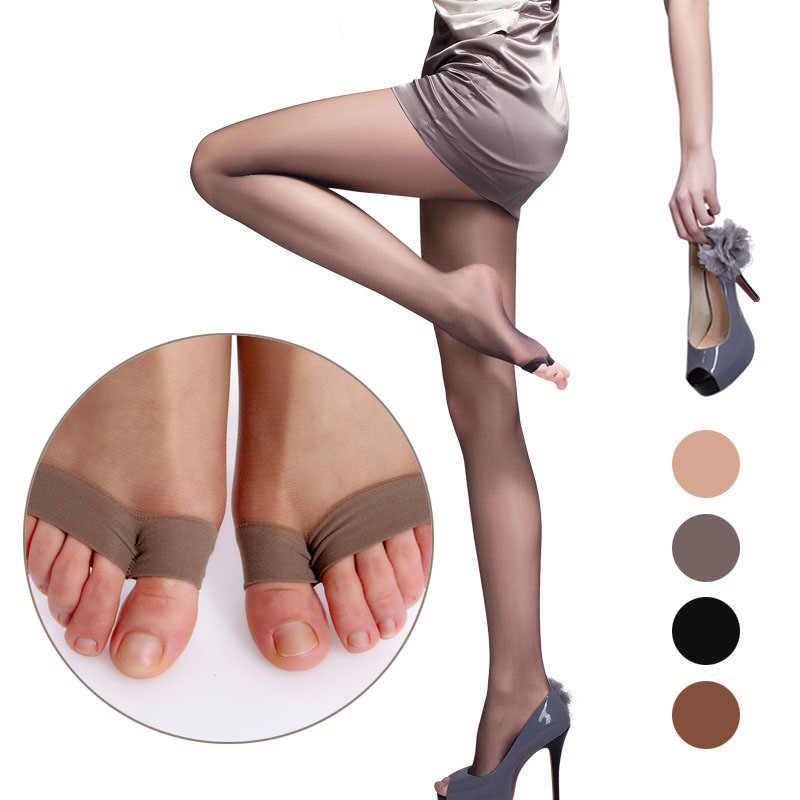 dbb52da701e LNRRABC Ultrathin Thin Summer Pantyhose Fish Mouth Plus Size Stockings  Breathable Sexy Women Fashion Hosiery
