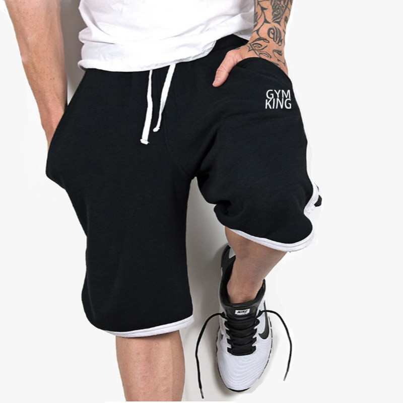 2019 NEW Men's Shorts Casual Quick Drying Fitness Bodybuilding Workout Shorts Men High Quality Loose Men Fashion Beach Shorts