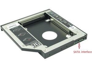 """Image 4 - WZSM חדש 12.7 מ""""מ SATA 2nd SSD HDD Caddy עבור ACER Aspire V3 771G V3 772 V3 772G V3 571G V3 471G קשה דיסק כונן caddy"""
