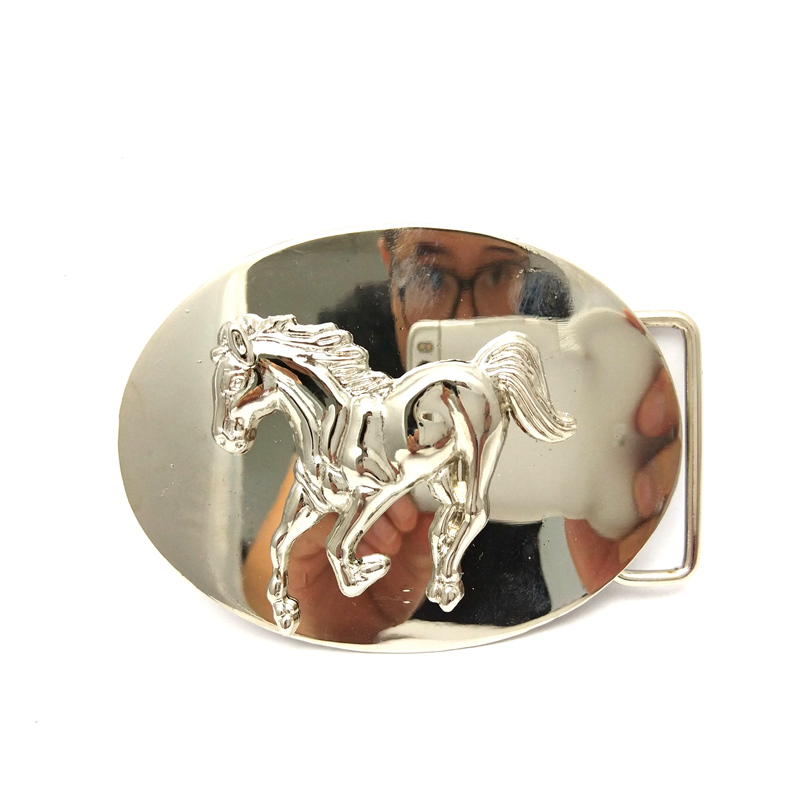 The Cowboys Of The West Belt Buckle Pegasus Two-piece Metal Man Belt Buckle For 4.0