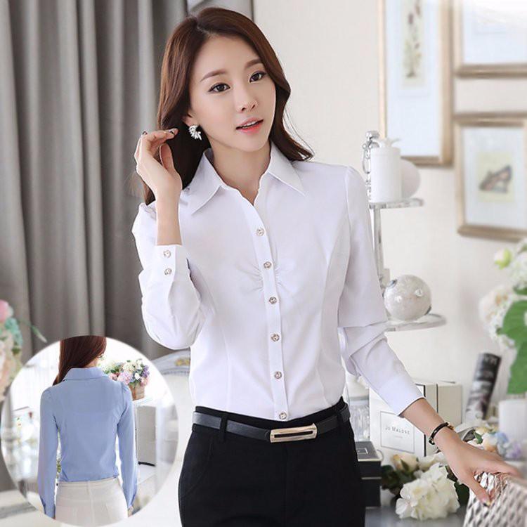 HTB11OE8LXXXXXcuXpXXq6xXFXXXr - Casual Blouse Long Sleeve Femininas Ladies Work Wear Tops Shirt