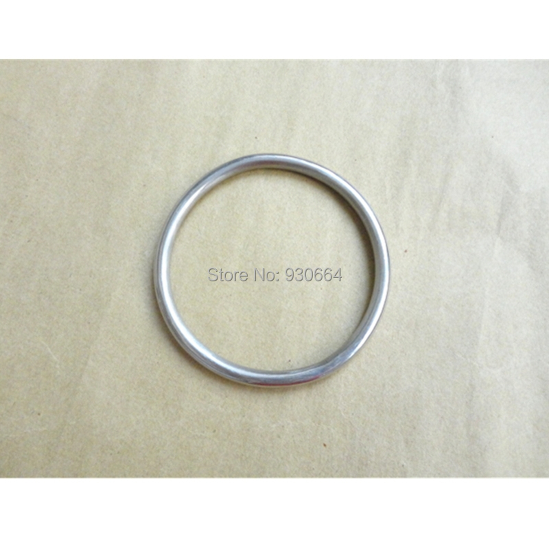 5PCS /Lot Stainless Steel  O Ring Hardware  Round Buckles Welded Solid  Ring 75mm P041