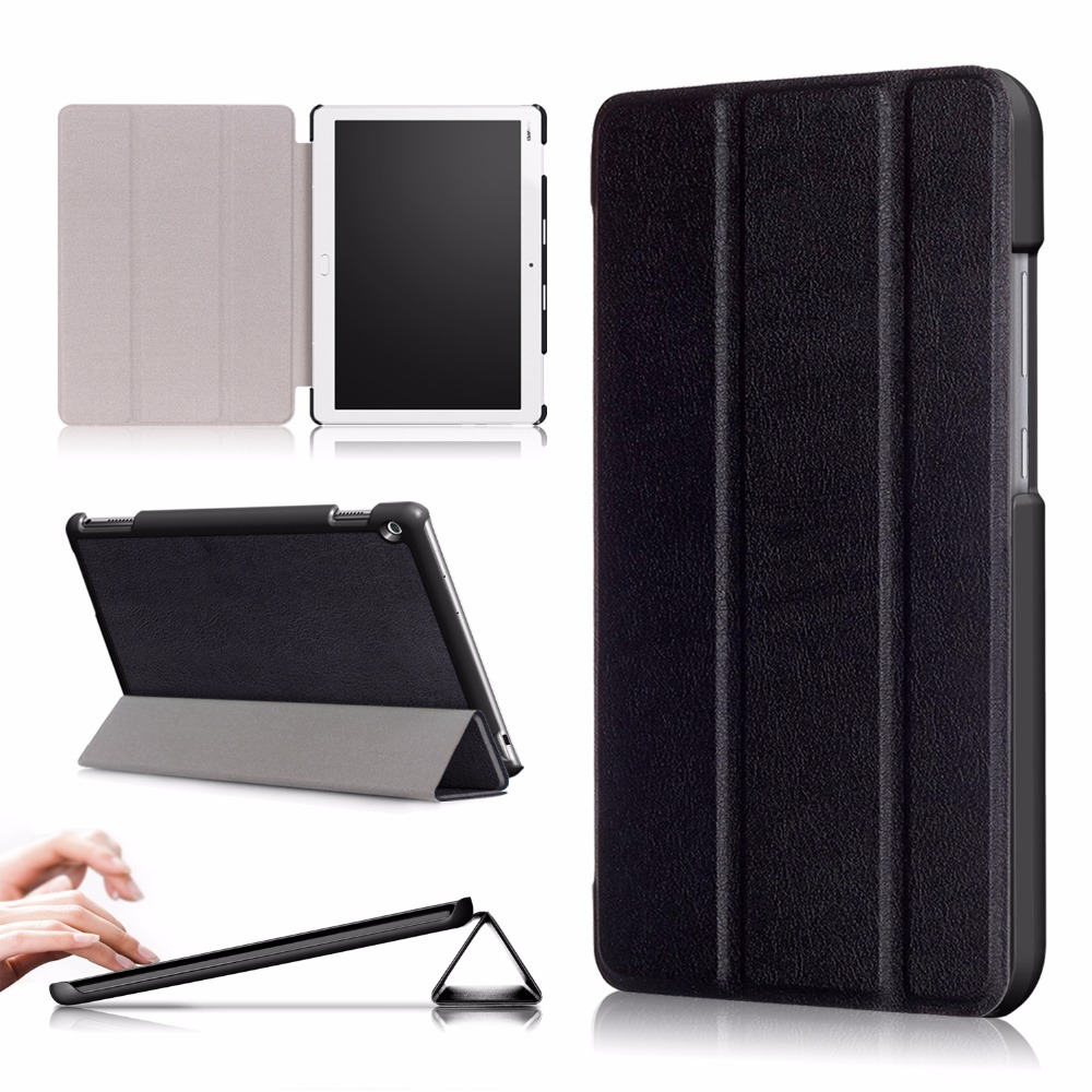 Case For Huawei MediaPad M3 Lite 10 BAH-W09 BAH-AL00 10.1 PU leather Tablet cover For Huawei mediapad M3 lite 10 Case 9h tempered glass for huawei mediapad m3 lite 10 10 1 inch bah w09 bah al00 screen protector for huawei m3lite10 glass film 2 5d