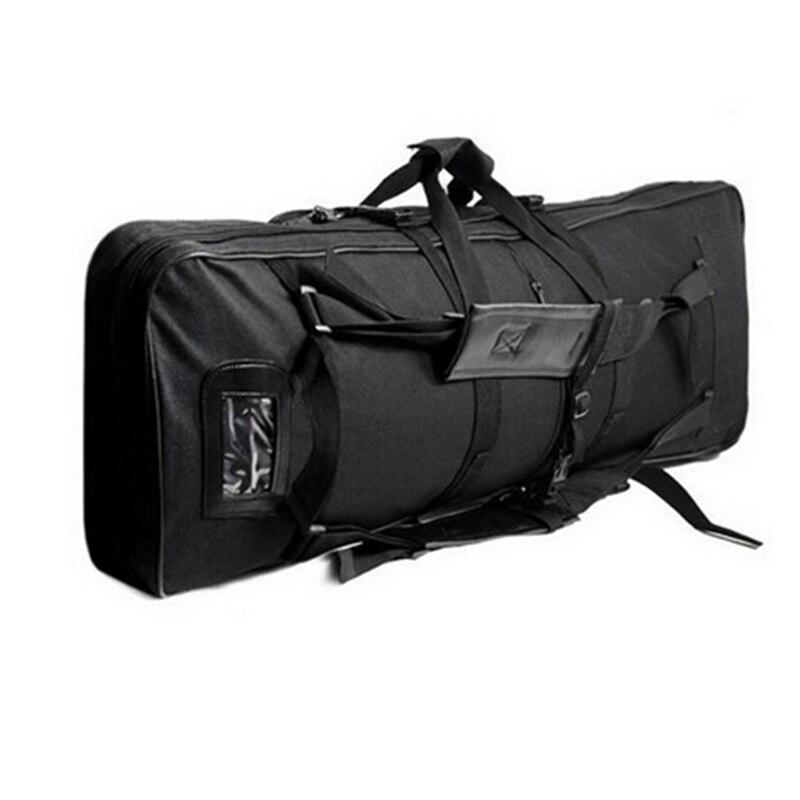 Mallette à fusil en Nylon haute densité sac à pistolet tactique 95 cm pour les activités de jeu de guerre en plein air