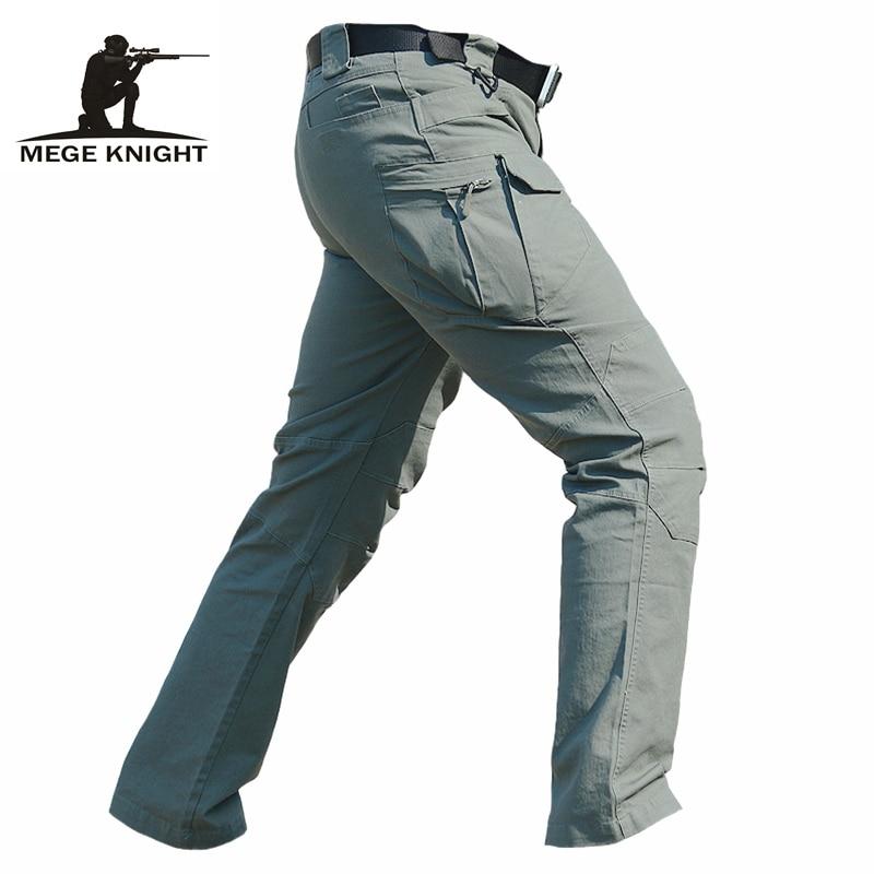 Ropa táctica hombres cargamento pantalones IX7 pantalones militares, Primavera Verano casual militar del ejército, pantalones de hombre
