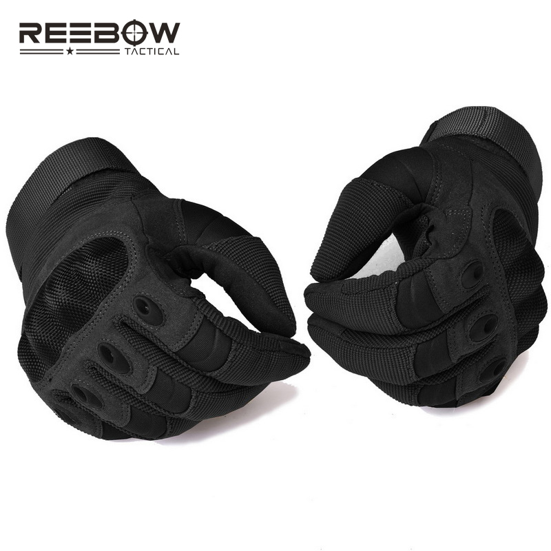 53a7bb069165 US $17.0 30% OFF|Military Hard Knuckle Tactical Paintball Gloves Motorcycle  Motorbike ATV Riding Army Combat Full Finger Gloves for Men Airsoft-in ...