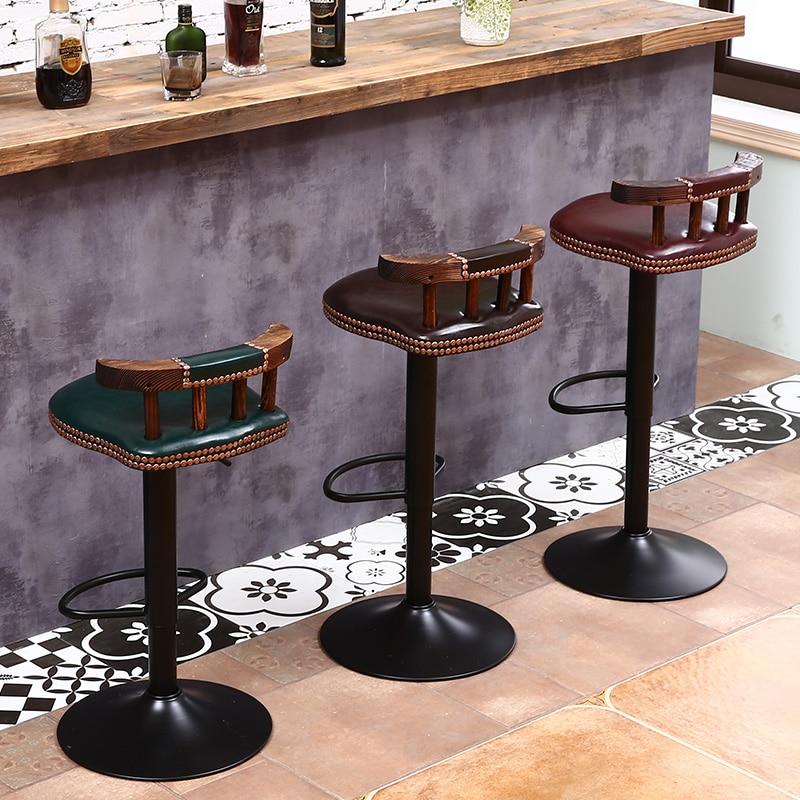 цена Modern Lift Bar Chair Home Bar Stool Premium Quality Coffee Chairs