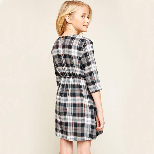 Plaid Dress Size 14