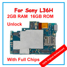 Original Motherboard For Sony Xperia Z L36H C6603 C6602 100% Unlocked Mainboard With Android System Logic board With Full Chips(China)