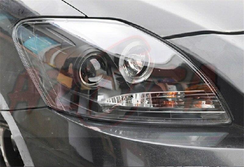 Бесплатная доставка для фара ВЛАНД автомобиля для Тойота vios светодиодные фары 2008 2012 глаза Ангела ксенона Н7 лампы подключи и играй дизайн