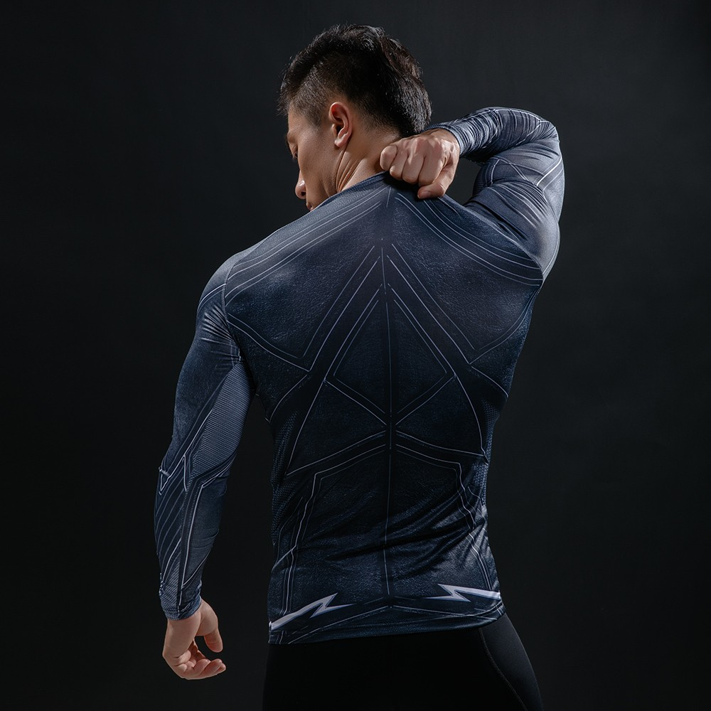Punisher 3D Printed T-shirts Men Compression Shirts Long Sleeve Cosplay Costume crossfit fitness Clothing Tops Male Black Friday 50