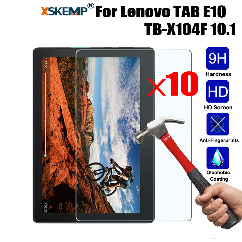 Genuine Tempered Glass Screen Protector for Lenovo Tab E10 10.1 Tablet
