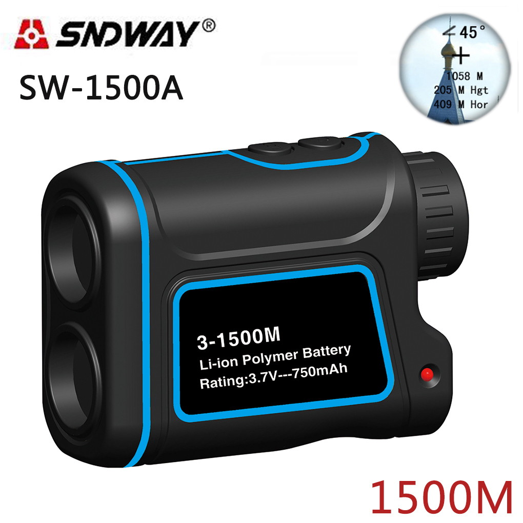 SNDWAY Telescope laser rangefinders distance meter Digital 8X 900M 1200M 1500M Monocular hunting laser range finder tape measure 1200m powerful 6x25mm long distance measure 1200m golf laser range finder