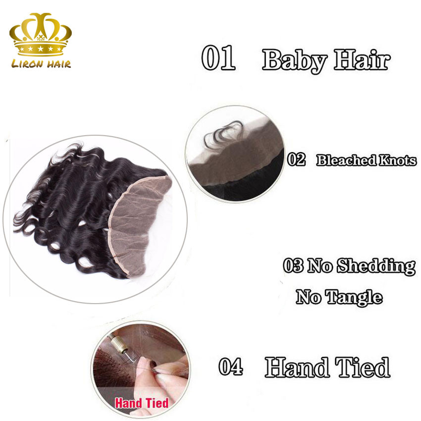 Malaysian Body Wave With Frontal Closure 3 Bundles 8a 13x4 Body Wave Lace Frontal Malaysian Virgin Hair With Closure H&J Hair (2)