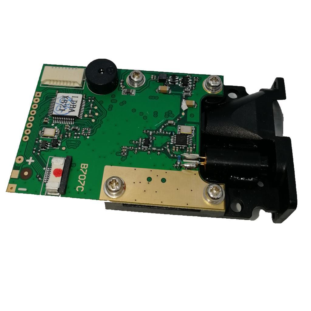 100m Laser Distance Measuring Sensor Range Finder Measurement Module RS232 TTL Interface цены
