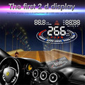 Nova E300 5 polegada Carro HUD Cabeça Up Display OBD OBDII Excesso de Velocidade Alarme 2D Refletir DisplayCar-styling Varejo & Frete Grátis por atacado