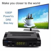 Original Freesat V7 DVB S2 1080P HDTV HD Digital Satellite Receiver Receptor Decoder USB WIFI High