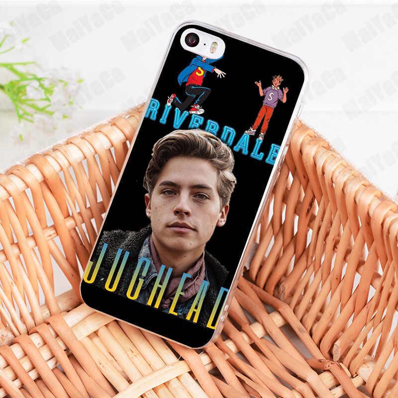 MaiYaCa tv riverdale Jughead Jones Coque Shell Phone Case for Apple iPhone 8 7 6 6S Plus X 5 5S SE 5C XS XR XSMAX