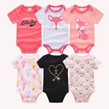 Lote de 6 unidades de ropa de algodón para bebé de Kavkas,...
