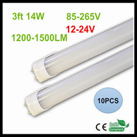 12 24V 85V 265V T8 0 9M LED Tube Lights 14W 3FT 900MM LED Light 2835SMD