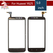 5.0 For Huawei Ascend Y625 LCD Touch Screen Digitizer Sensor Outer Glass Lens Panel Replacement 5 0 for zte blade a315 lcd touch screen digitizer sensor outer glass lens panel replacement
