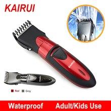 Профессиональная электрическая машинка для стрижки волос, перезаряжаемый триммер для волос, водонепроницаемая машинка для стрижки бороды, Бритва для мужчин