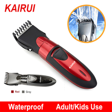 Professional Electric Hair Clipper Rechargeable Hair Trimmer Waterproof Hair Cutting Machine Beard Razor Shaver for Men Haircut