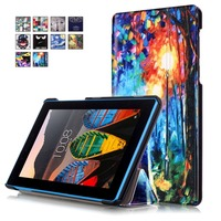 VTRONHYE Cover Case For Lenovo 7 Inch Tablet TAB3 7 TB 3 X730F Shockproof PU Leather