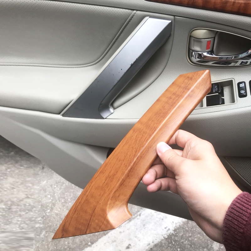 2pcs/Set Car Interior Door Handle Pull Cover Trim For Toyota Camry 2006 2007 2008 2009 2010 2011