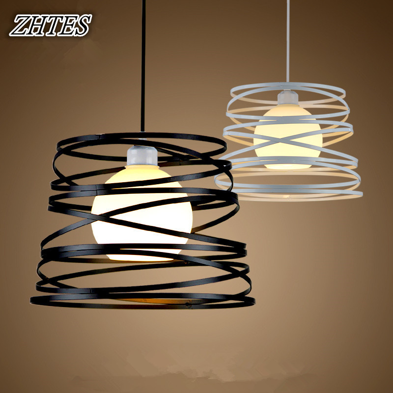 Nordic Iron Chandelier Creative Living Room Dining Room Bedroom Modern Minimalist American Bar Single-head Chandelier nordic bedroom lamp clot multiple chandelier iron minimalist living room lights modern creative restaurant a1 zh