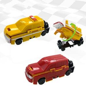Image 3 - 반다이 voov 변형 구조 경찰 트랜스 포터 엔지니어링 플라스틱 모델 차량 장난감 자동차 어린이 선물 새로운