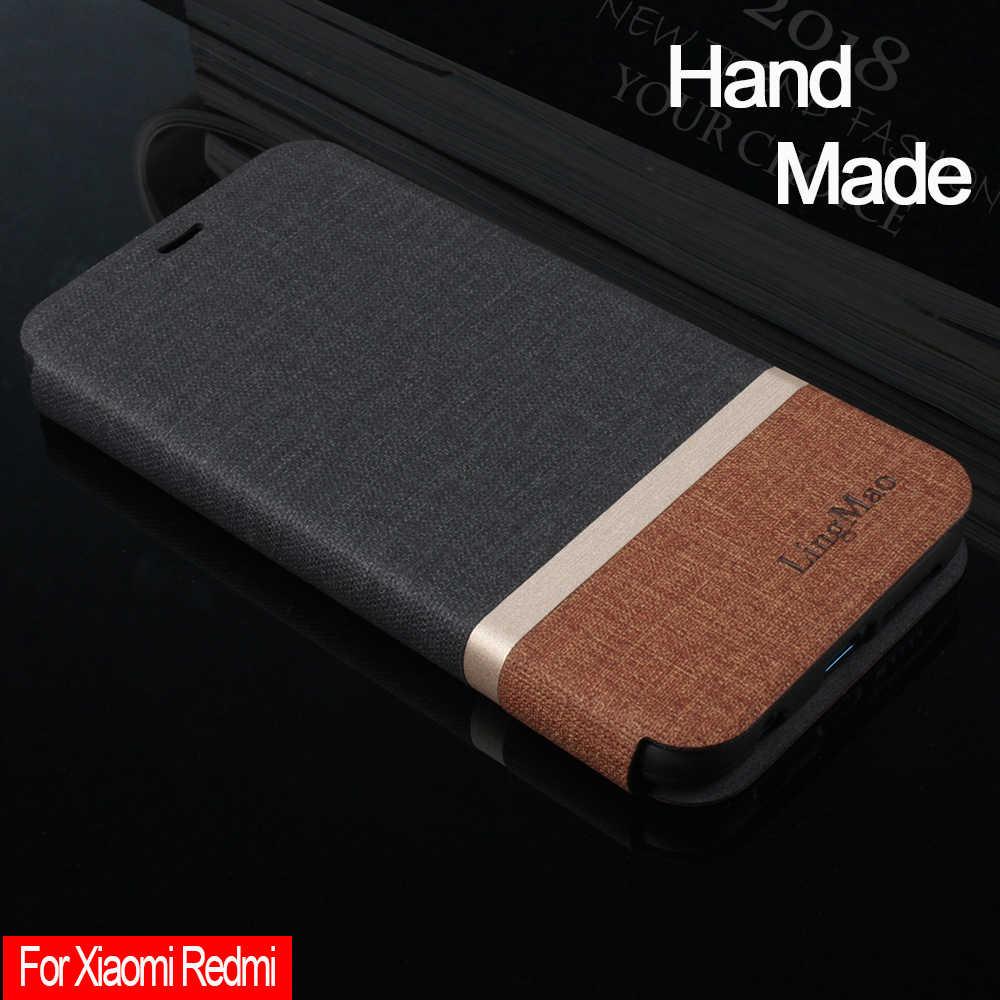 Ручная работа для Xiaomi Redmi Note 5 4x 5a Redmi 6a 6 Pro Y1 3s 4 pro 4a 5a Кожаные чехлы Redmi 5 Plus откидная крышка слот для карт Fundas