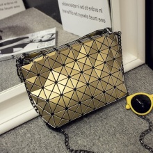 цены Famous Brand Female Bao Bao Bag Diamond Lattice Fold Over Bags Small Women Handbags Chain Fashion Shoulder Bags BaoBao Bolsa 5*8
