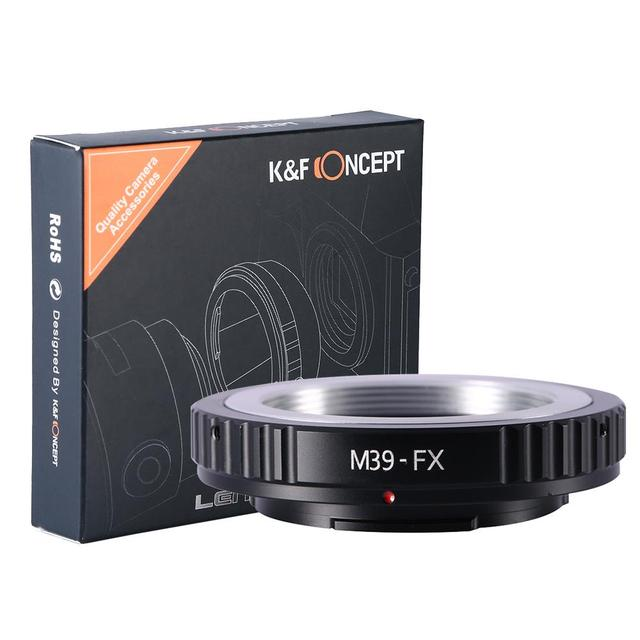 Lente Anillo Adaptador de Montaje Para Leica M39 Tornillo (39mm Leica x1 montaje de rosca) Lente para Fujifilm X-pro1 X-E1 X-Pro1 Cámara Del montaje del Tornillo adaptador