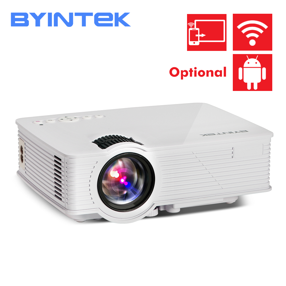 BYINTEK BT140 Home Theater fuLl HD 1080P portable Video LCD Digital HDMI Cinema USB 1900lumens 3D mini LED Projector Proyector salmon