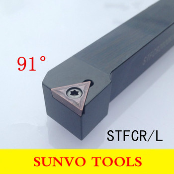 STFCR STFCL 1616H16/1616H11 CNC Screw Fastening External Turning Holder Use TCMT TCGT 160404/110204/090204 CNC Insert image