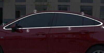 Çelik pencere tam etrafında kapak için 12 adet Chevrolet Cruze Sedan 17-19
