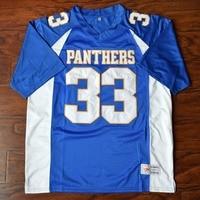 MM MASMIG Tim Riggins #33 Dillon Hohe Fußball Jersey Genäht Blau S M L XL XXL XXXL 4XL