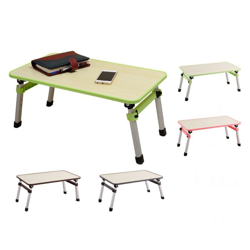 Ultra Stable Laptop Table Simple Folding Computer Desk Notebook Desktop Stand Table Portable Laptop Table Study Table Bed Desk sufeile oversized laptop table collapsible portable computer desk home simple dining table wooden office simple study table
