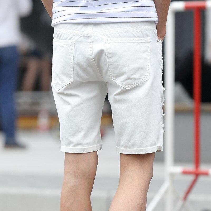 Pantalones cortos de mezclilla para hombre Slim Regular Longitud de - Ropa de hombre - foto 3