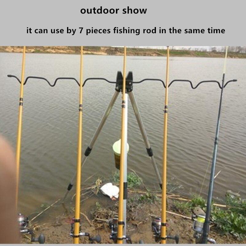pesca ao ar livre acessórios vara pod