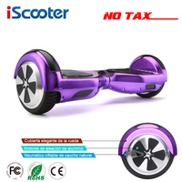 Iscooter hoverboardsセルフバランス電動スクータースケートボード電動hoverboard 6.5インチ両輪ホバーボー