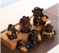 Resin Decoration Decoration Crafts Process Of Tea Pet Will Change The Rich To Process Nilefo