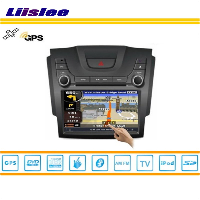 Liislee For Chevrolet Trailblazer 20122013 Car Radio Audio Video