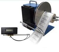 Automatic Barcode label rewinder Adjustable core tags Rewinding machine 150mm paper winding machine reversing Speed regulating