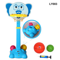 Children Portable Basketball Stand+Dart Shooter 120 160cm Backboard Height Adjustable with Inflator Basquete Game Set Boys Ind