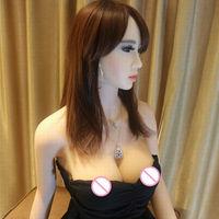 Owd Bob 2017 165 cm echte siliconen sex poppen vagina opblaasbare volwassen realistische sekspop winkel big boobs ass gadgets voor mannen