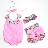 Hot Sell White And Black Baby Romper With Shorts Headband 2015 New Baby Romper Autumn Sun