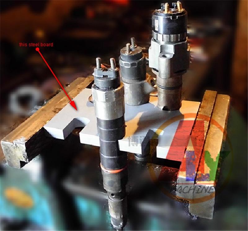 все цены на simple type EURO-III common rail injector disassemble dismounting frame tool, common rail injector nozzle repair tools