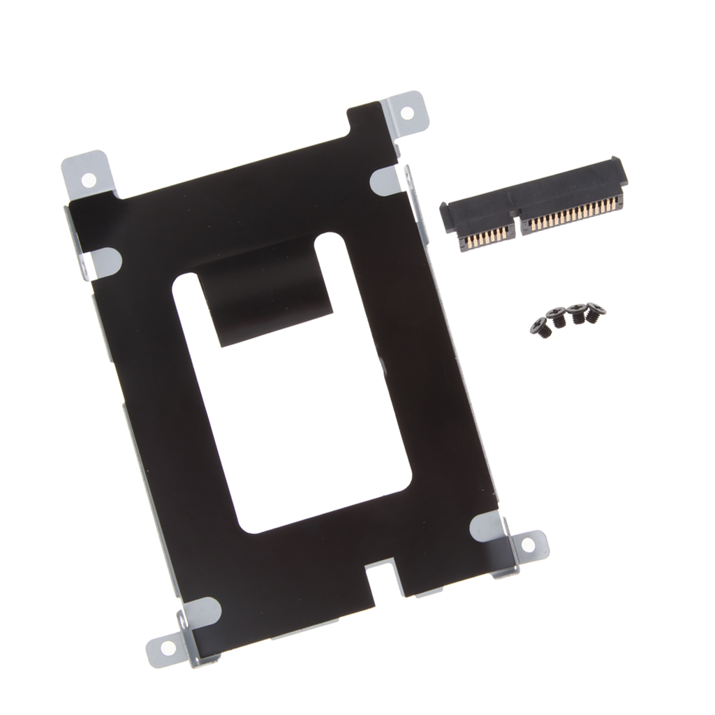 Hard Drive HDD SSD Caddy/Enclosure Bay For Dell Latitude E5420 E5520 + HDD Connector W/Screws D80V4